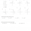 exponents and exponential functions quiz b