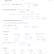 exponents and exponential functions quiz e answers
