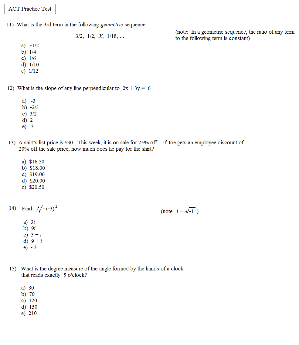 sat test sample pdf