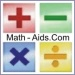 math-aids button for link