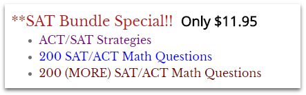 sat test prep bundle