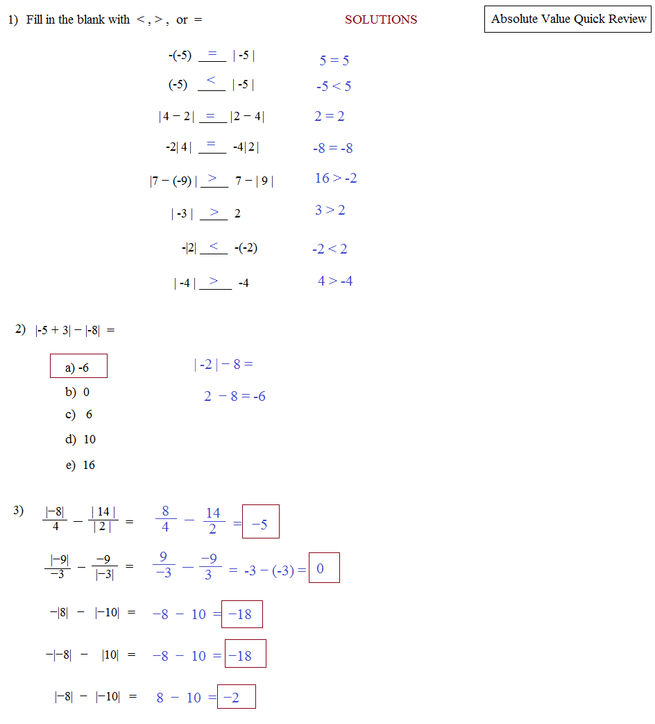 absolute value inequalities systems of equations Solving absolute value inequalities worked example: absolute value equations with one solution worked example: absolute value equations with no solution practice: solve absolute value equations next tutorial solving absolute value inequalities.
