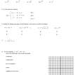 algebra II review practice 1