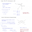 angle properties and algebra