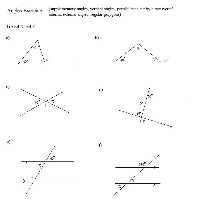 Complementary Supplementary Vertical Angles Worksheet Free – Complementary and Supplementary Angles Worksheets