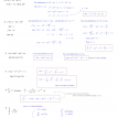 antiderivatives and integrals quiz 1 solutions