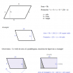 area and perimeter of a parallelogram