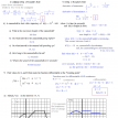 calculus review test 2 solutions