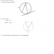 circle and inscribed figures questions