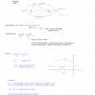 mathplane conics notes ellipses 1