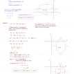 mathplane conics notes ellipses 2