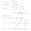 derivatives of trigonometry functions