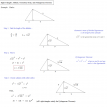 geometric mean and triangles example