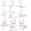 finding sides and angles of special right triangles solutions