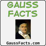 gauss facts emblem for link
