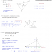 geometry median altitude centroid questions answers