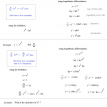 logarithm derivatives