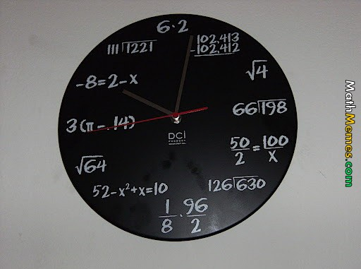 math fail pics 3961 math clock