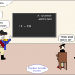 math cartoon 138 napoleon complex number
