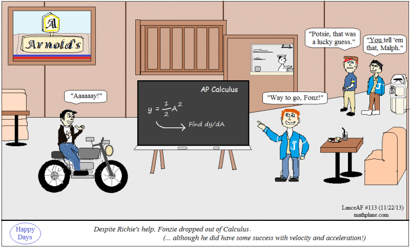 math comic 113 happy days