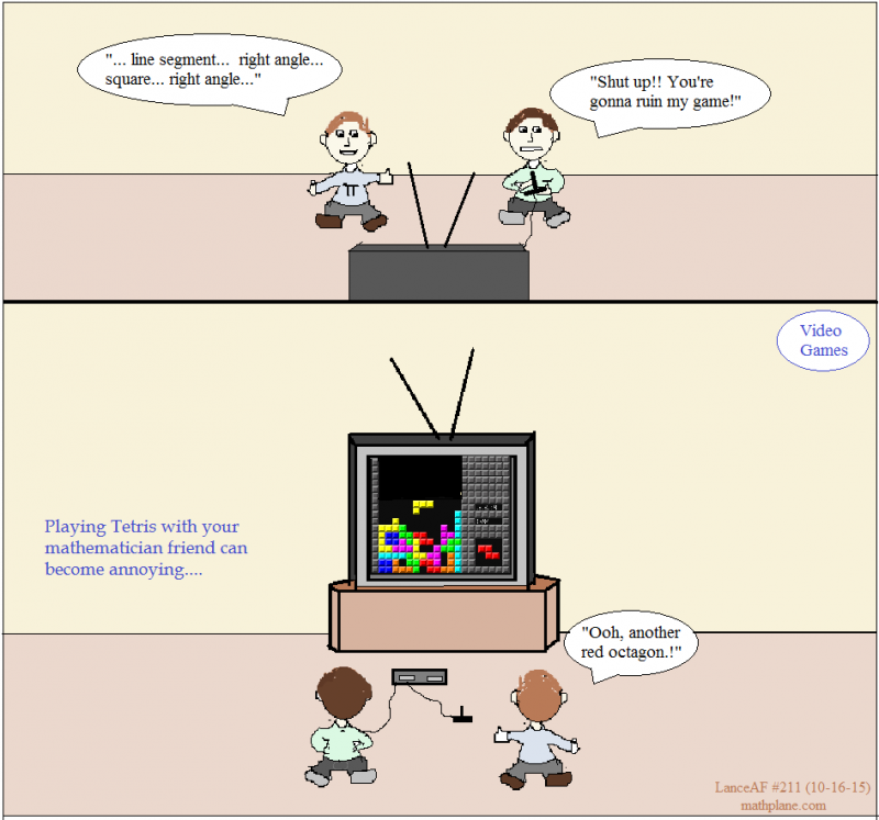 math comic 211 video games tetris