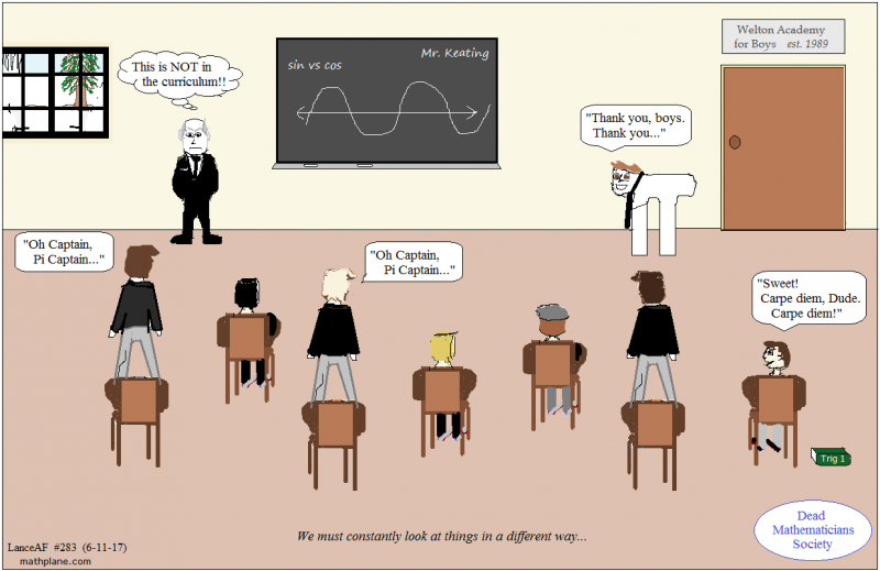 math comic 283 dead maths society