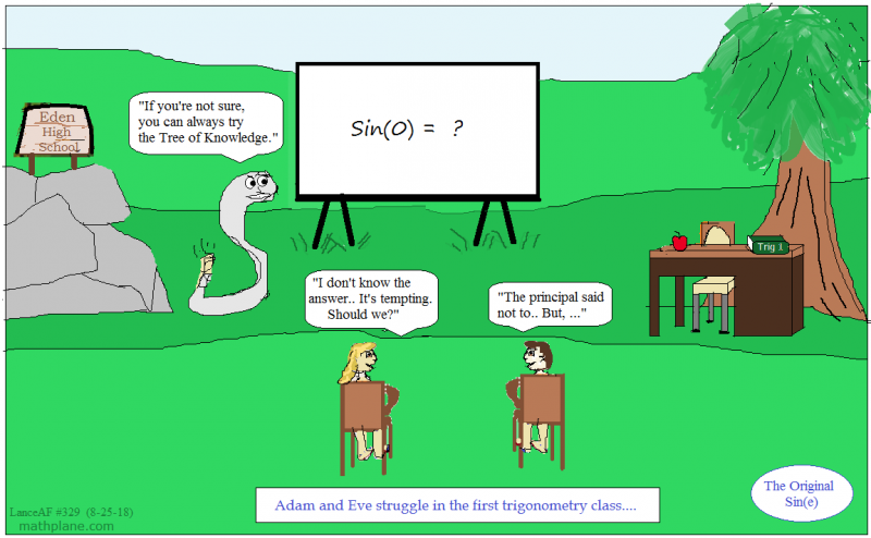 math comic 329 original sine