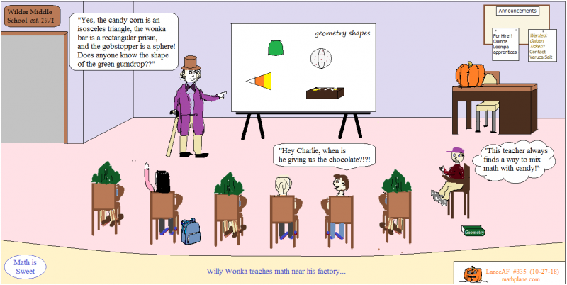 math comic 335 math is sweet
