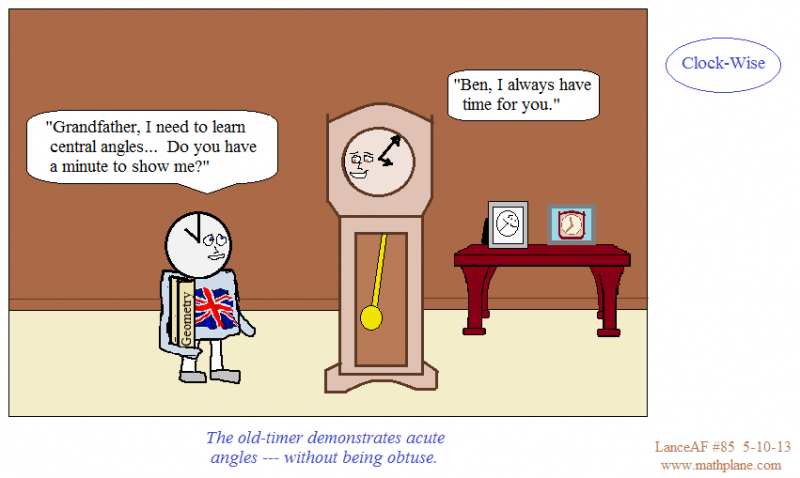 math comic 85 clock-wise
