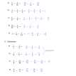 math problems fractions 1 solutions