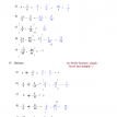 math problems fractions 2 solutions