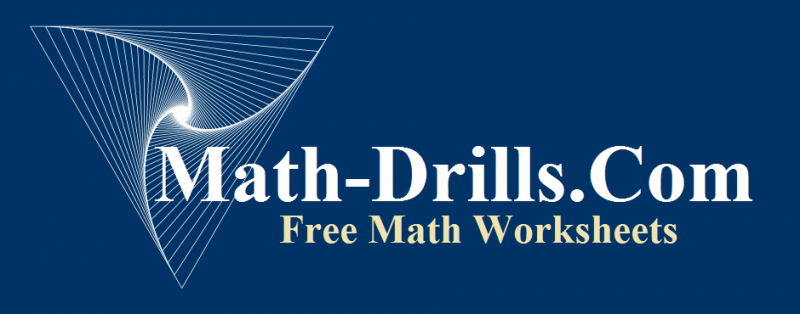 mathdrills emblem for link to mathplane