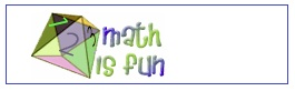 mathisfun logo for  link to mathplane