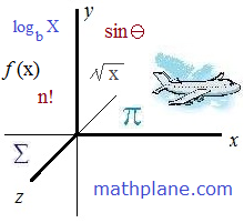 mathplane lessons and humor