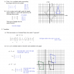 matrix coordinate geometry worksheet 1 solutions