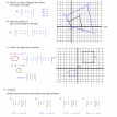 matrix coordinate geometry worksheet  2 solutions