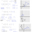matrix coordinate geometry worksheet  3 solutions
