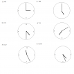measing clock angles exercise