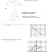 more triangle center median questions