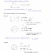 polygons exterior interior angles 4