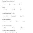 pre-algebra review test 2