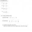 pre-algebra review test 4