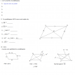 quadrilaterals parallelograms quiz