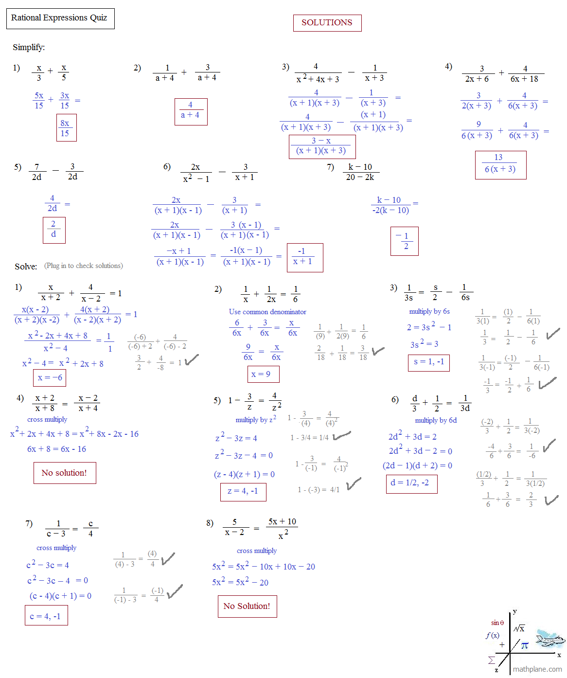 worksheet Rational Expressions Worksheet With Answers operations with rational expressions worksheet abitlikethis polynomial factoring test solutions