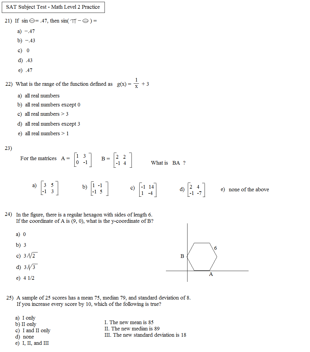 SAT Math Challenge Problem Workbook Online Library eBooks Read – Sat Math Worksheets