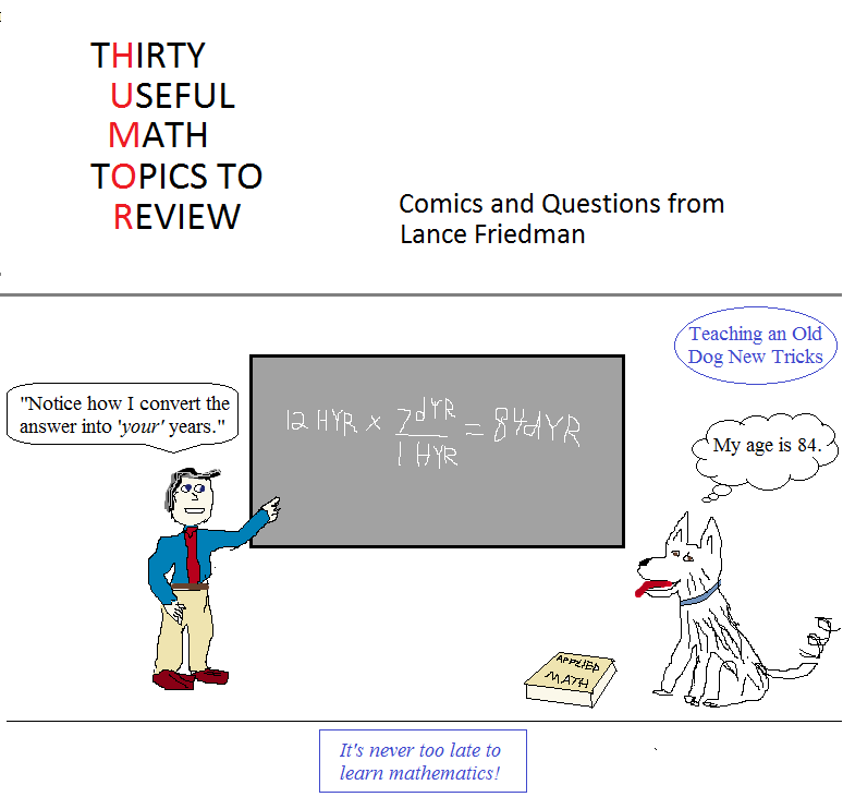 thirty useful math topics to review promo