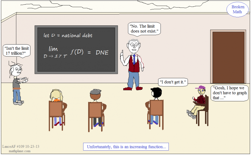 webcomic 109 broken math - debt limit
