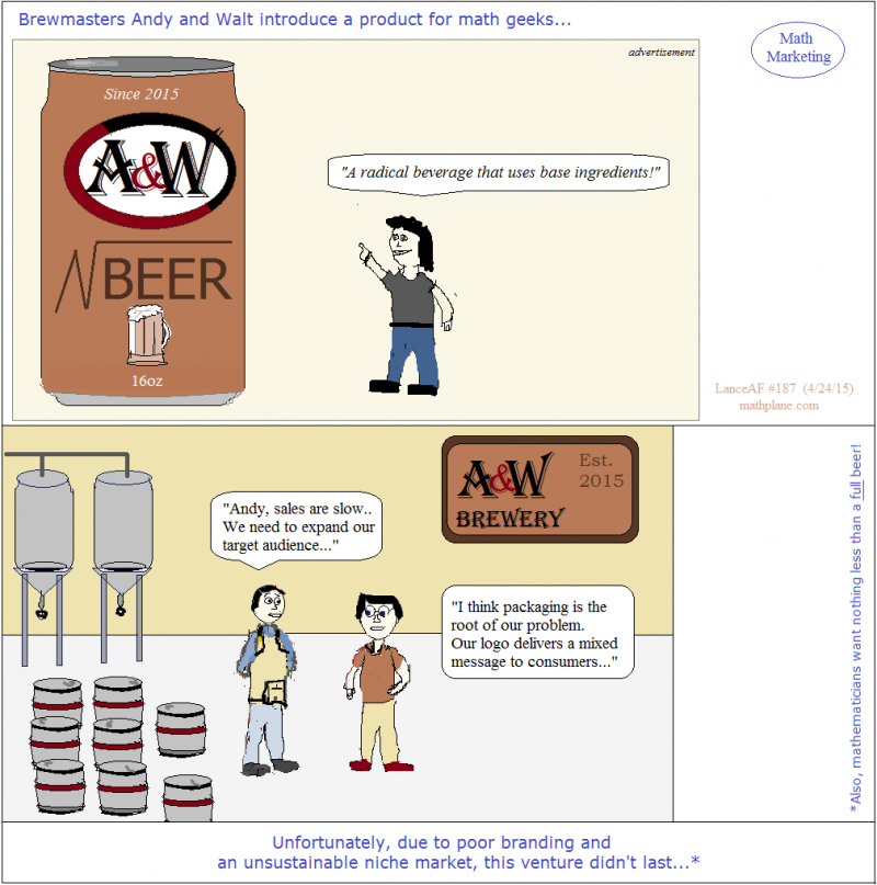 webcomic 187 math marketing - root beer