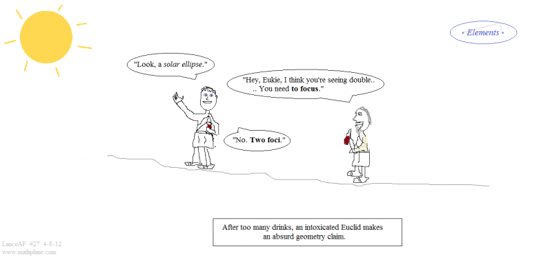 webcomic 27 solar ellipse math comic euclid