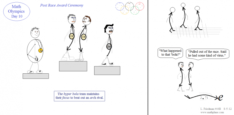 webcomic 44B math olympics award ceremony